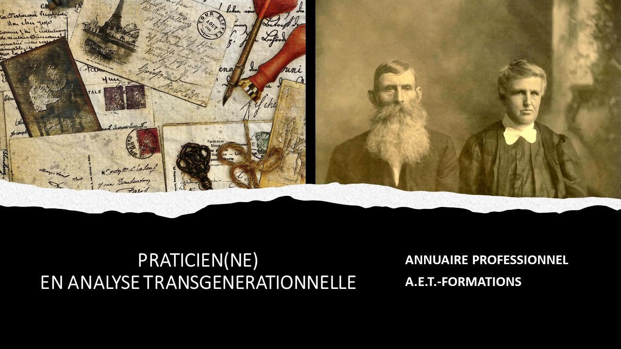 ANNUAIRE TRANSGENERATIONNEL