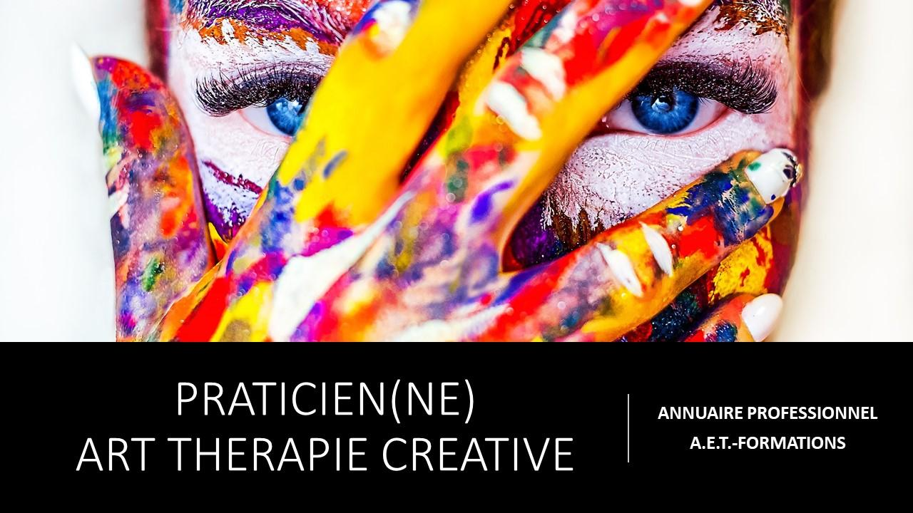 PRATICIEN ART THERAPIE CREATIVE