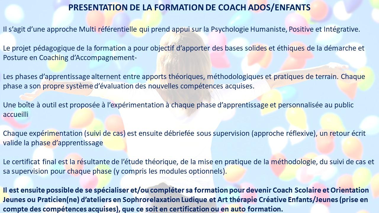 form coach ados 2019