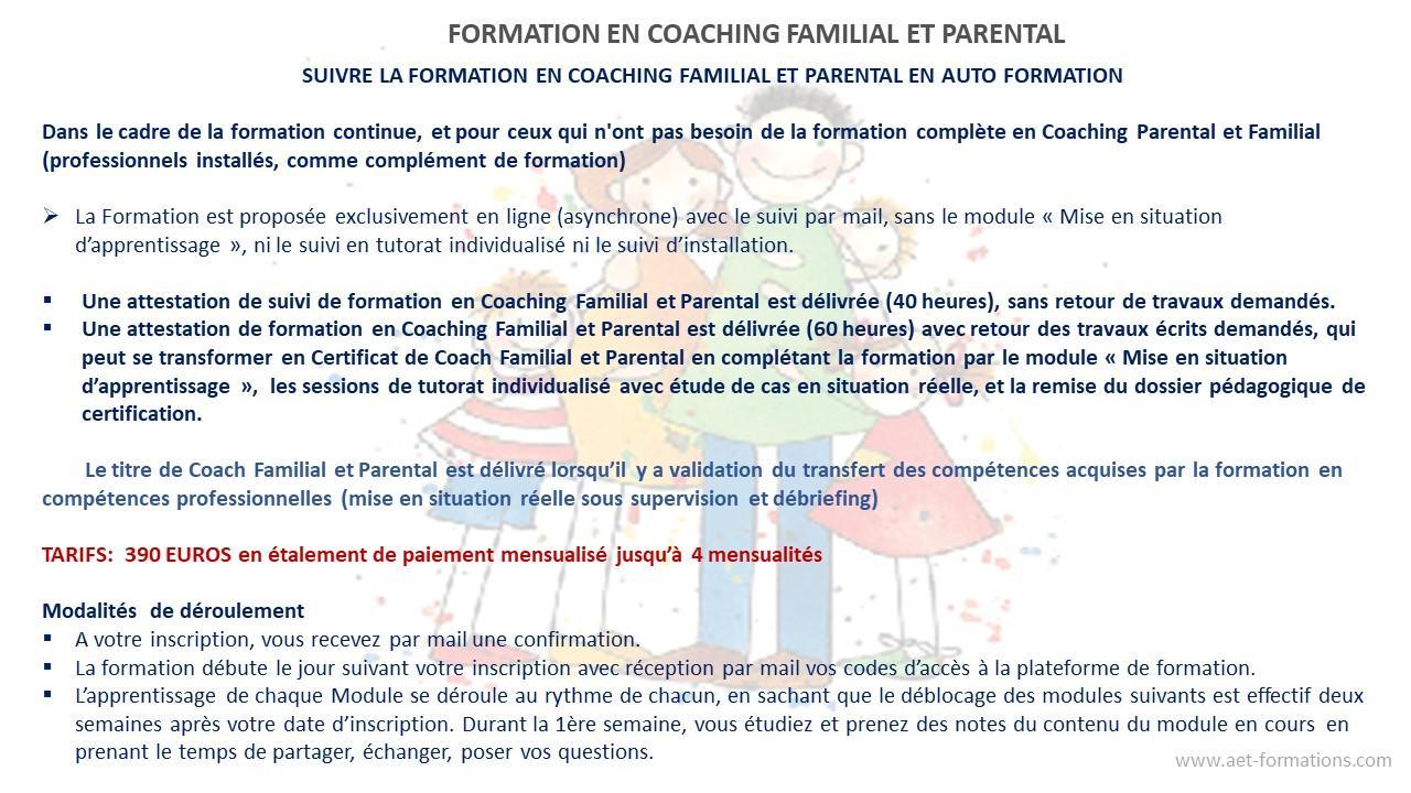 FAMILY COACH 6