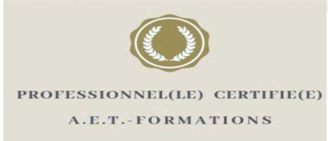 Logo certifie